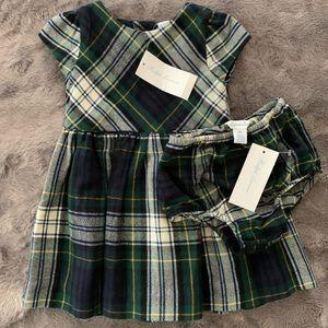 NWT Ralph Lauren tartan dress